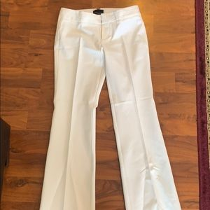 Cynthia Rowley white dress pants